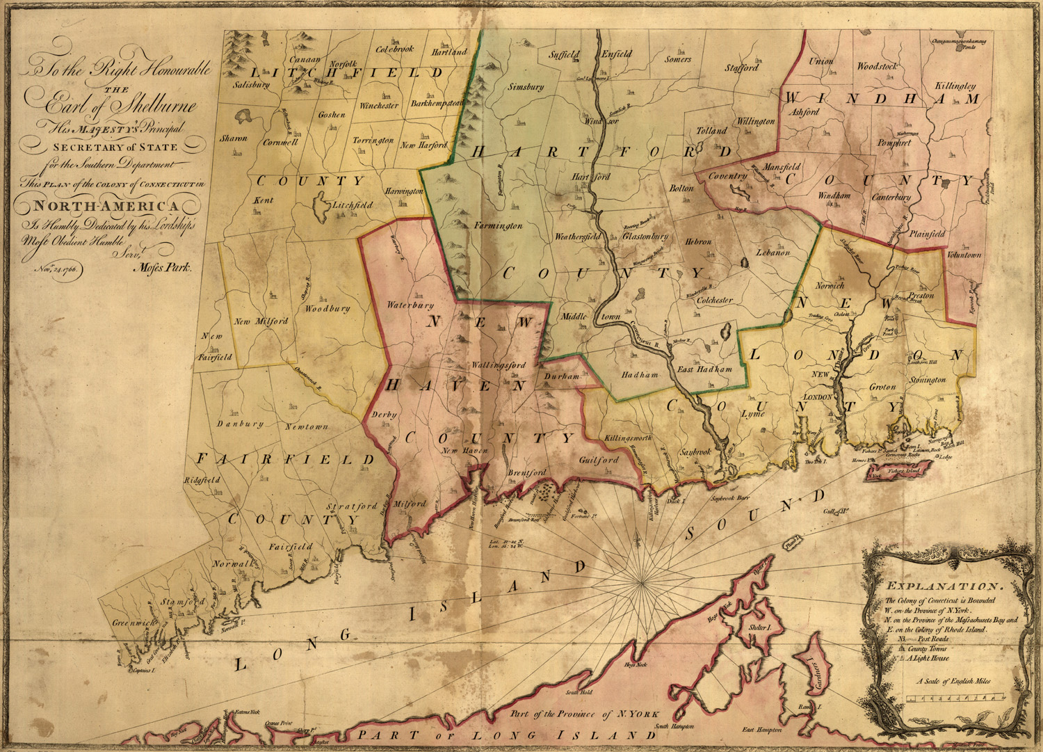 Map Of Connecticut