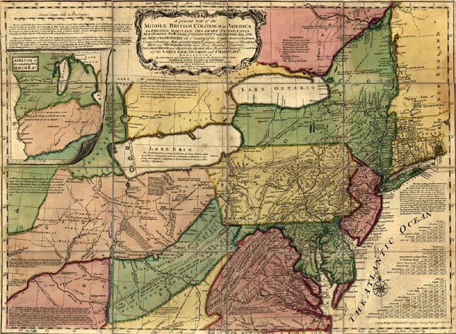 maps of virginia. Map of Virginia Colony