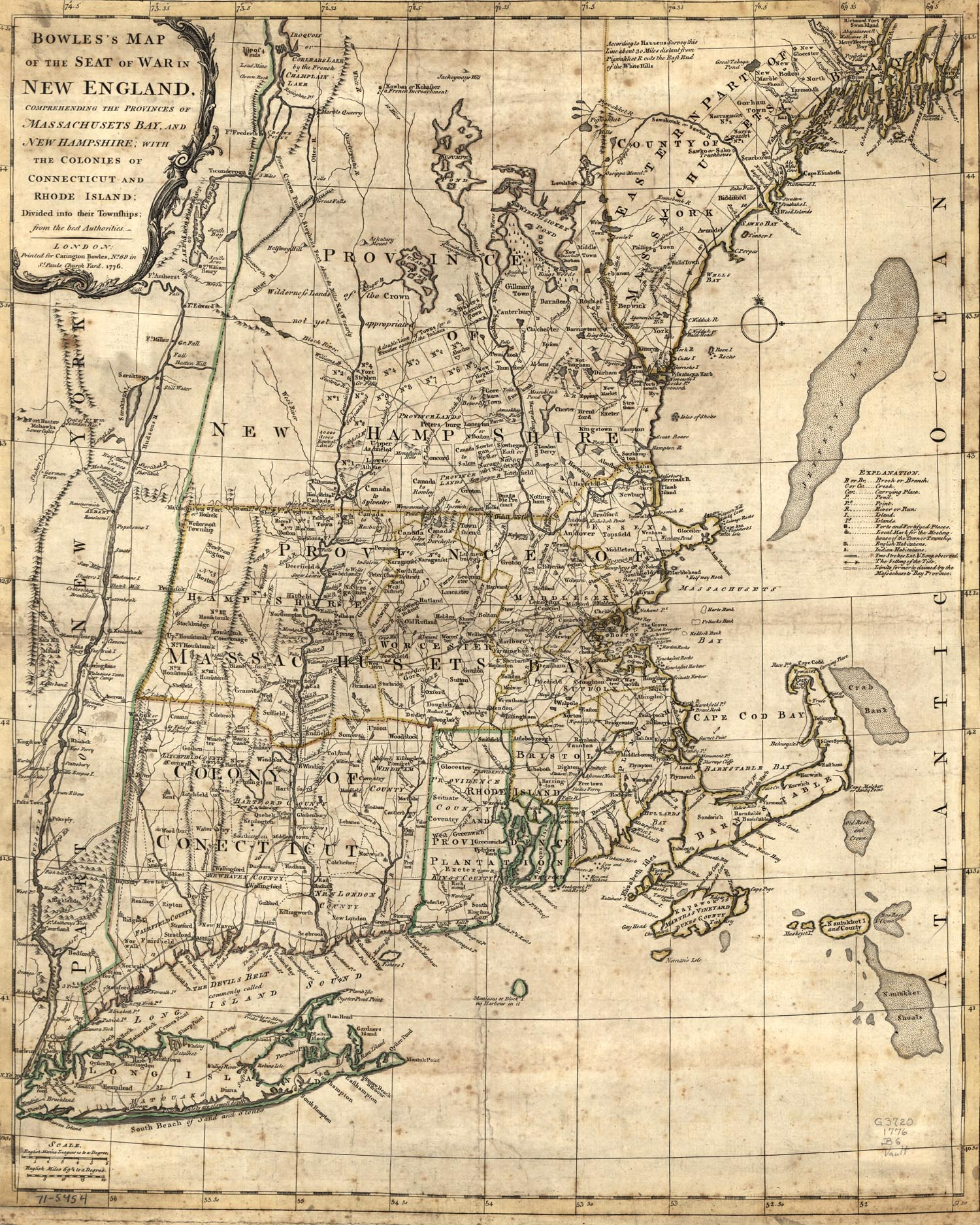 Download this New England Colonial Map picture