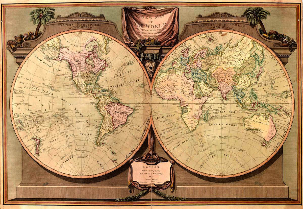 Revolutionary war causes map of new world gumiabroncs Choice Image