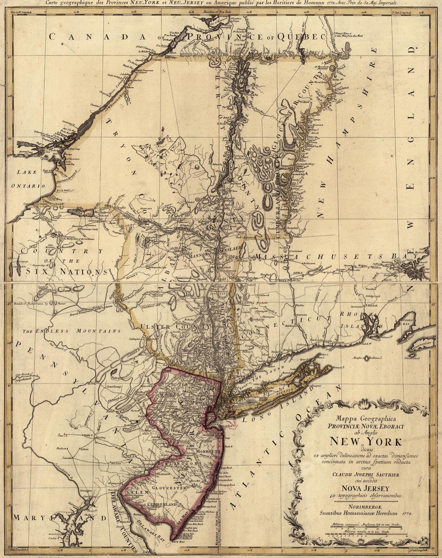 Revolutionary War Map Of New York.New York Map