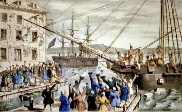 Boston Tea Party. Boston Tea Party