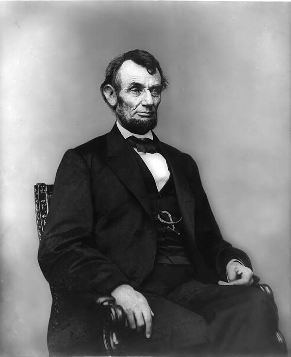 Picture of Abraham Lincoln Seated