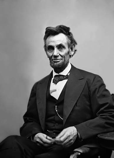 Last picture of Abraham Lincoln before his assassination