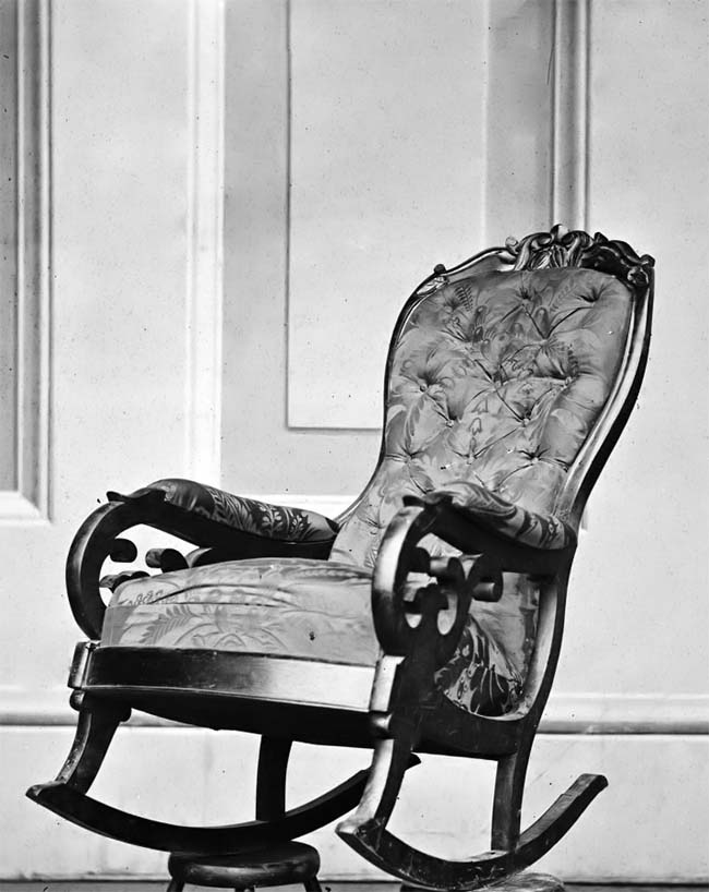 Abraham Lincoln Assassination Rocking Chair