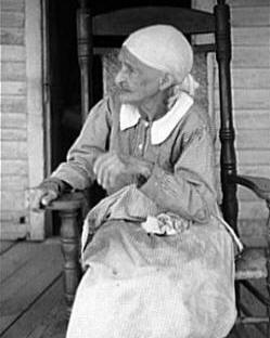 Old Slave Woman