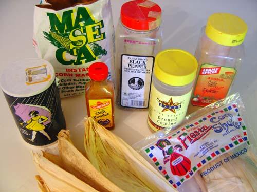 Hot Tamale Shopping List