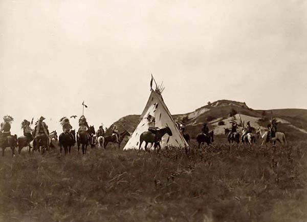 Sioux War Party