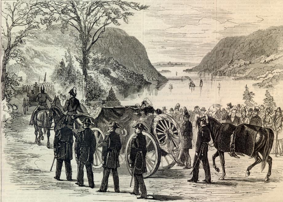 General Custer's Funeral