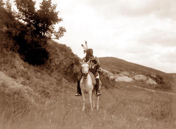 Indian on Horseback