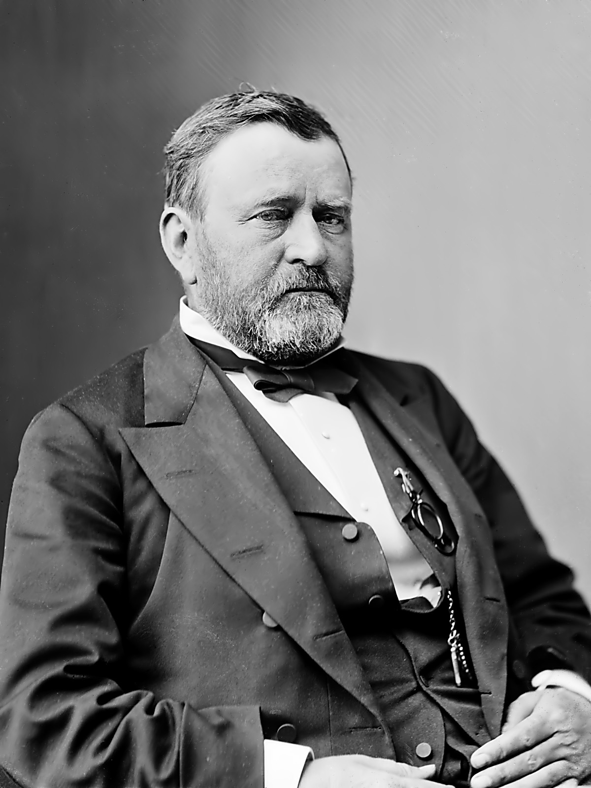 a biography of ulysses s grant a president of the united states The president of the united states is the elected head of state and head of government of the united states the president leads the  ulysses s grant.